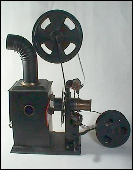 BING 35mm Film Projektor mit Handkurbelantrieb